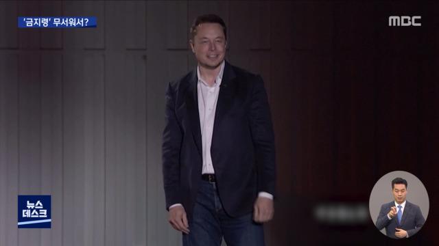 "Tesla 제재가 두렵습니까? … Musk ""Great China""공물"